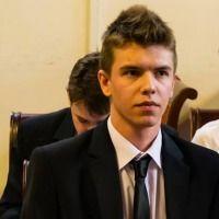 Łukasz Łaguna - student prawa na Wydziale Prawa i Administracji Uniwersytetu Jagiellońskiego