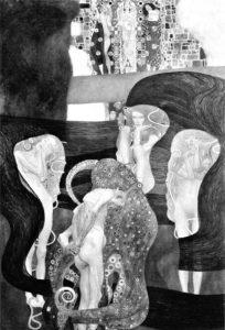 """Gustav Klimt, """"Jurisprudenz"""""""