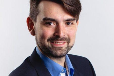 dr Patryk Wawrzyński – badacz komunikacji politycznej z Interdyscyplinarnego Centrum Nowoczesnych Technologii UMK w Toruniu.
