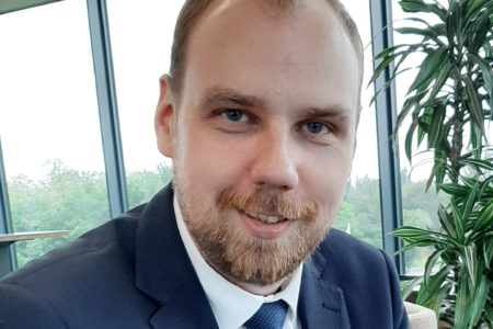 Kamil Stępniak, doktorant w Katedrze Prawa Konstytucyjnego i Systemów Politycznych Uniwersytetu w Białymstoku